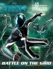 Battle on the Grid (Disney Tron) (Glow-in-the-Dark Sticker Book) - Good - Random