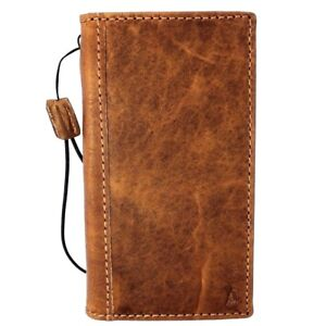 Genuine Leather Retro Case for Apple iPhone X Book Soft Wallet Hand Strap Cover
