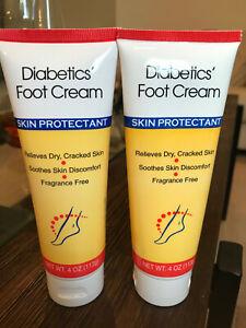 Pack Of 2 Assured Diabetic Foot Cream Dry Cracked Skin Crema Pies