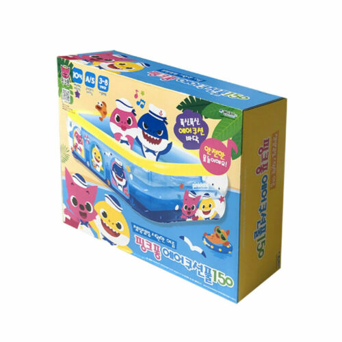 Pinkfong Baby Shark Inflatable Air Cushion Swimming Pool 59in*45.2in*14.9in