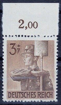 20€ === Freigabepreis 850 Pf I ** Oberrand Erfinderisch === Dr Drittes Reich Mi Kat