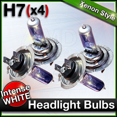 Skoda Roomster 5J 100w Clear Xenon HID High//Low//Side Headlight Bulbs Set