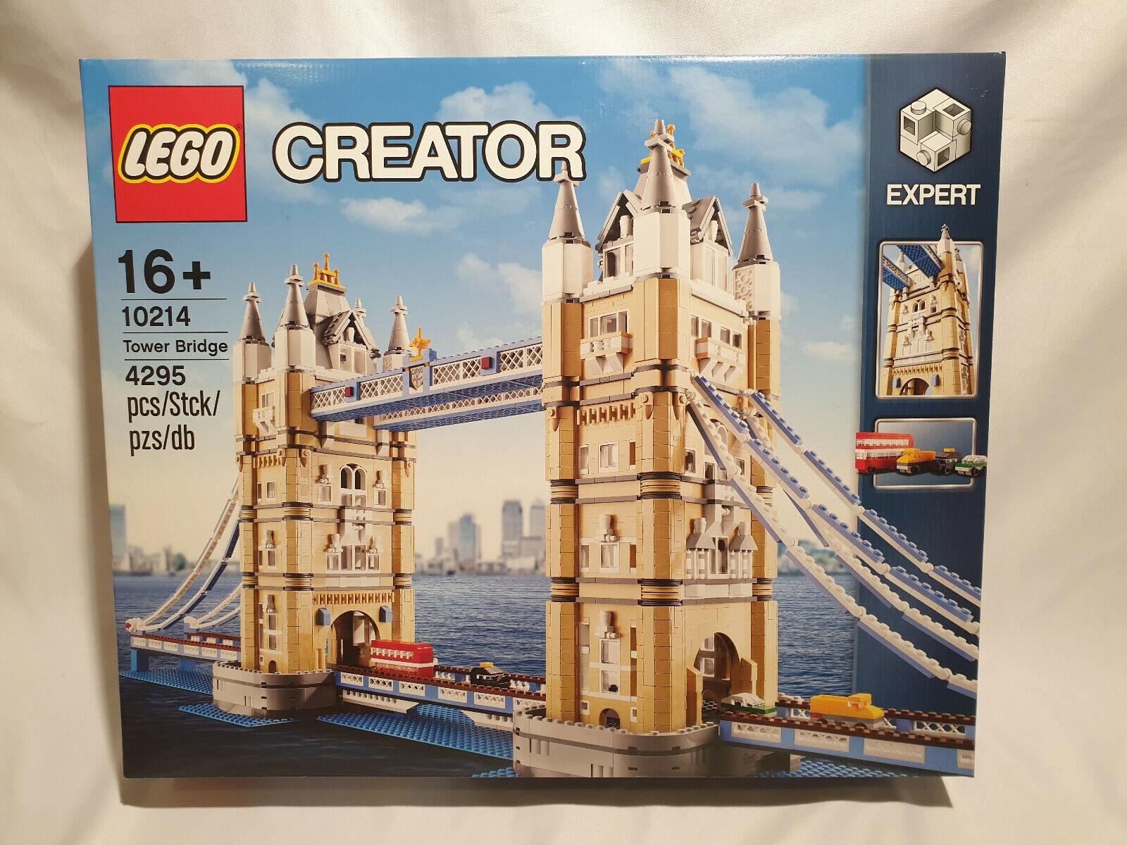 LEGO 10214 CREATOR Tower Bridge  NEUF, SCELLE  alta qualità generale