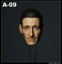 1/6 Custom Predator Royce Adrien Brody The Pianist Head Sculpt For Hot Toys Body