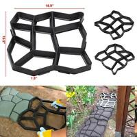 Plastic Pathmate Stone Paving Mold Concrete Stepping Walk Way Mould Paver