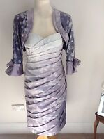 Mascara Collection dress & bolero New size 14 Mother of the Bride £449