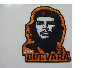 Che Guevara Patches Iron On Embroidered Sew On