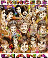 princess Diana Tribute T-shirt Or Print By Ed Seeman