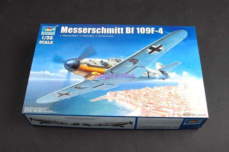 Trumpeter 02292 1 32 Messerschmitt Bf 109F-4