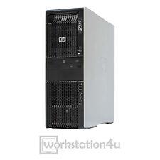 HP Z600 Workstation 2x Xeon X5550 16GB RAM NVIDIA NVS 300 128GB SSD 250GB HDD W7