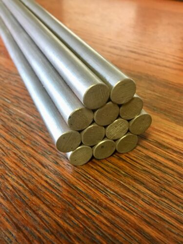 "304 Stainless Steel Round Bar 1//4/"" Rd x 24.00/"""