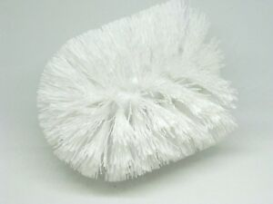 Toilet Brush Head : Toilet brush head replacement white pack of 2 good quality