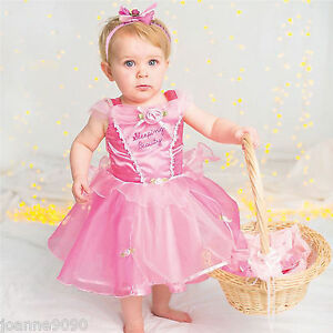 Image is loading Baby-Toddler-Disney-Princess-Aurora-Sleeping-Beauty-Fancy-  sc 1 st  eBay : toddler disney princess costume  - Germanpascual.Com