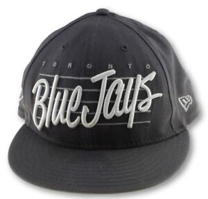 Toronto Blue Jays Hat Genuine New Era Snap Back Baseball Cap Grey ... e2d1c7407db