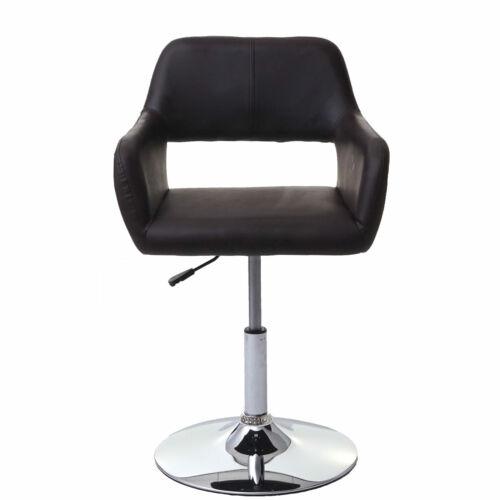 chromfuß Salle à manger chaise mcw-a50 III Cuir Synthétique Marron