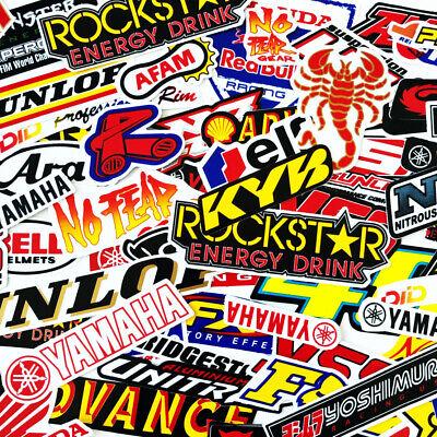 180 Mixed Random Stickers Motocross Motorcycle Car ATV Racing Bike Helmet Decal