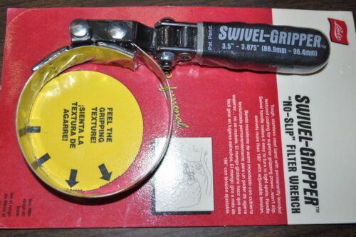 No Slip Oil Filter Wrench Standard R:3.5-3.875 USA Lis57030 Swivel Gripper