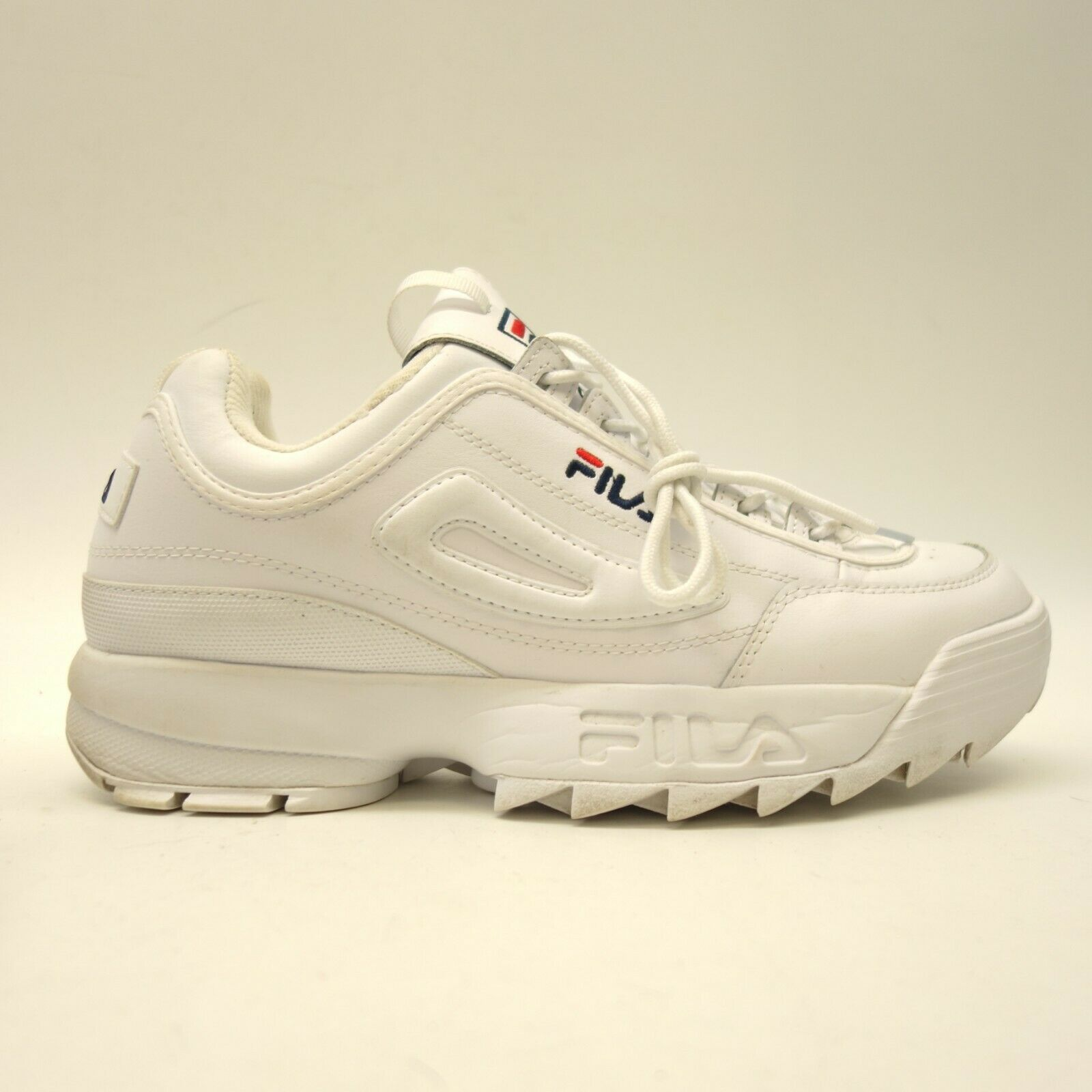 FILA Mens US 10 EU 43 Disruptor II Original White Premium shoes Sneakers