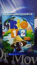 Rio 1-2 *3D - 2D*BLU RAY *NUOVO
