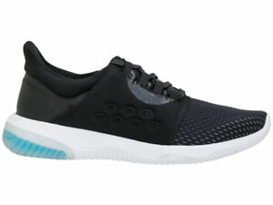 Asics Shoes Black Blue Women's Uk Phantom 4 Running Sports Gym Trainers aw6nqC