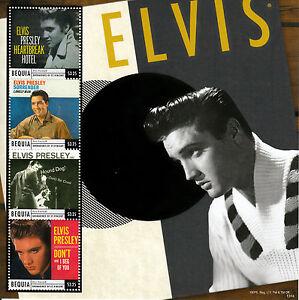 Bequia-Grenadines-St-Vincent-2013-MNH-Elvis-Presley-Classic-Hits-4v-MS-Hound-Dog