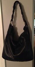 Lucky Brand Vintage Inspired Distressed Leather Hobo Bag