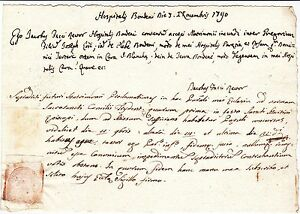 BONDENO-OSPITALE-RARISSIMO-DOCUMENTO-DEL-1790-CON-FAVOLOSO-TIMBRO-A-SECCO