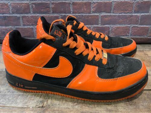 De Noir Force Homme 1 5 Chaussure Orange Nike 11 306353 008 Taille Air waqXzzfF
