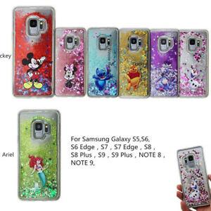wholesale dealer 113ef 809d6 Details about Hot Disney Moving Glitter Liquid Phone Cover Case For Apple  Phone 7 7+ 8 8+ X