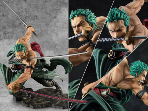 Collections Anime Jouets One Piece Roronoa Zoro Figure Figurines Statues 17.5cm