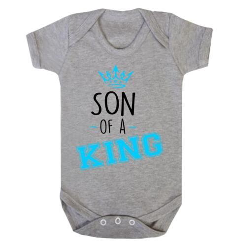 Hijo de un rey Babygrow Familia Real el Príncipe Niño Chico Reino