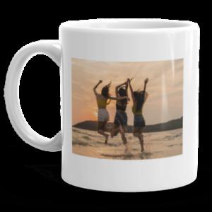 Custom Photo Picture 11 OZ Ceramic Coffee Mug Tea Glass Cup With Handgrip