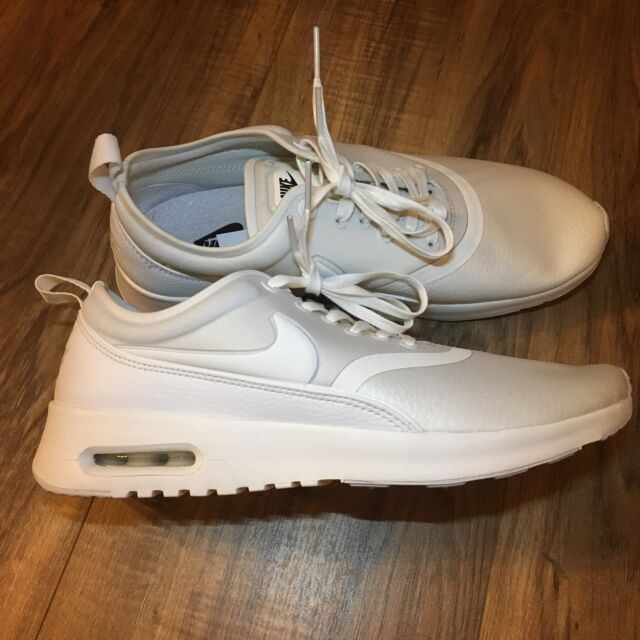 Nike Air Max Thea Ultra PRM White Womens Running Cross Training Shoes Size 7.5