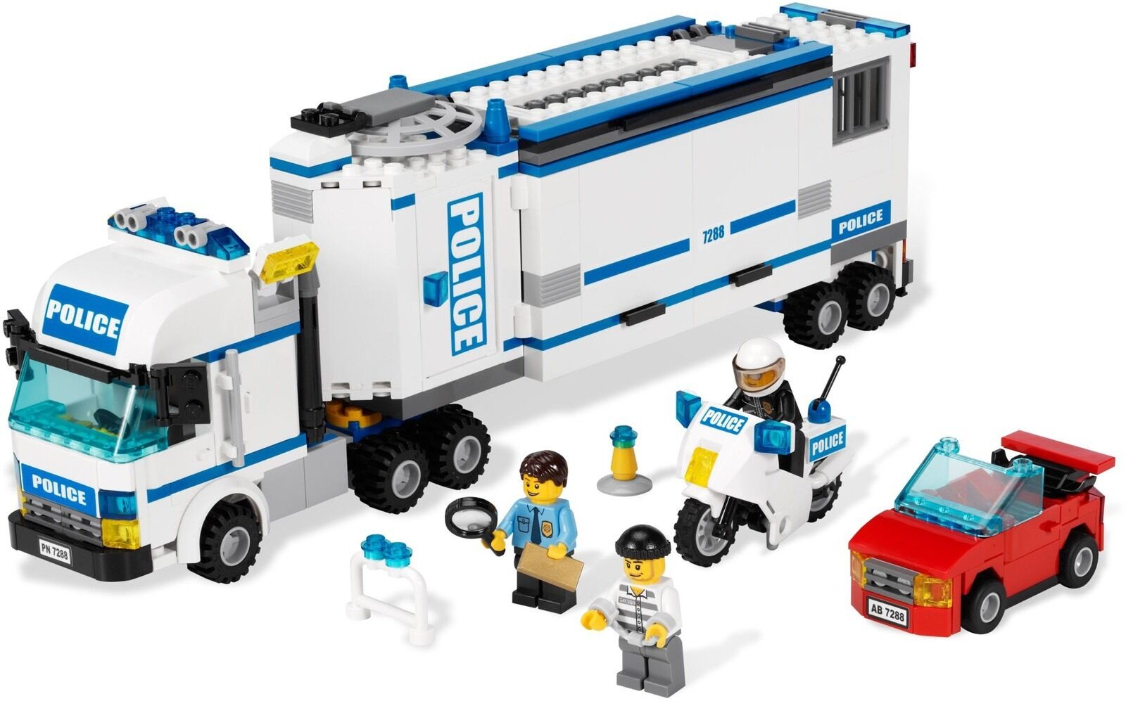 Lego 7288 Mobile Police Unit (Released 2011)