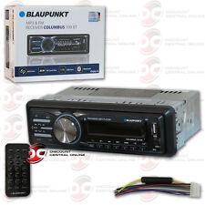 BLAUPUNKT COLUMBUS100BT CAR AUDIO 1-DIN USB MP3 DIGITAL MEDIA BLUETOOTH STEREO
