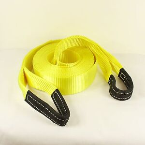 13T 10 Meter 4x4 Heavy Duty Recovery Winch Tow Snatch Strap Rope Towing Offroad