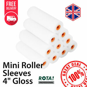Details About Foam Roller For Gloss Sleeves 4 Painting Diy Decorating Mini New