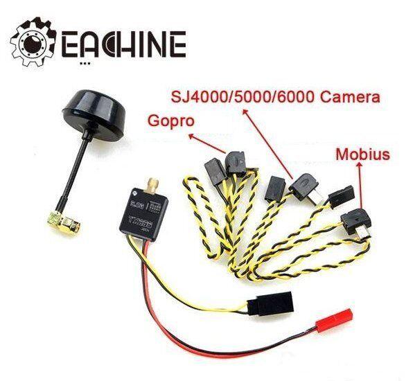 GoPro Mobius SJ4000 808 32ch 5.8ghz FPV video Transmitter kit plug&Play UK Post