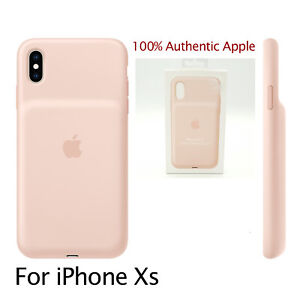 Genuine-Apple-Smart-Battery-Case-for-iPhone-XS-MVQP2LL-A-Pink-NEW-OPEN-BOX