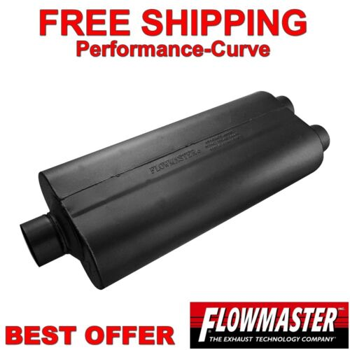 """Flowmaster 70 Series BB2 Muffler 3/"""" 2.5/"""" C//D 530702"""