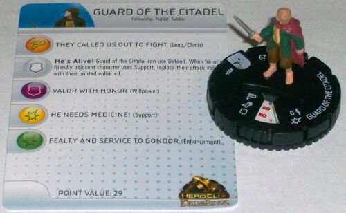 GUARD of the CITADEL #204 Lord of the Rings starter set HeroClix