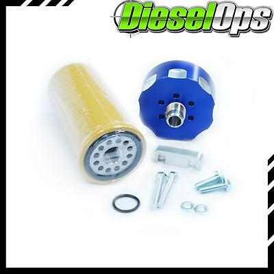 Diesel Ops CAT Fuel Filter Kit Adapter for GM Duramax 6.6L 2001-2016