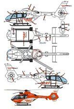 Peddinghaus 1/72 EC135 P2+ Rescue Helicopter Markings D-HDRV Christoph 27 2251