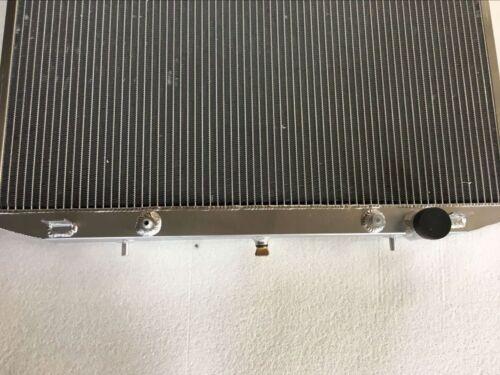 Fit NISSAN Frontier Xterra L4 2.4L KA24DE; V6 3.3L VG33E AT aluminum radiator