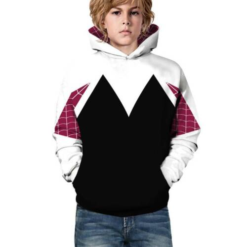 Kids Children 3D Graphic Print Hoodies Boys Girls Sweatshirt Pullover Jumper Top