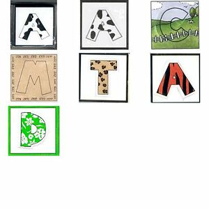 My Mind's Eye MME FUN LETTERS Alphabet Frame Up Die Cuts - You Choose Theme SALE