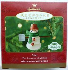 NEW Hallmark 2000 MAX The Snowmen of Mitford Keepsake Ornament