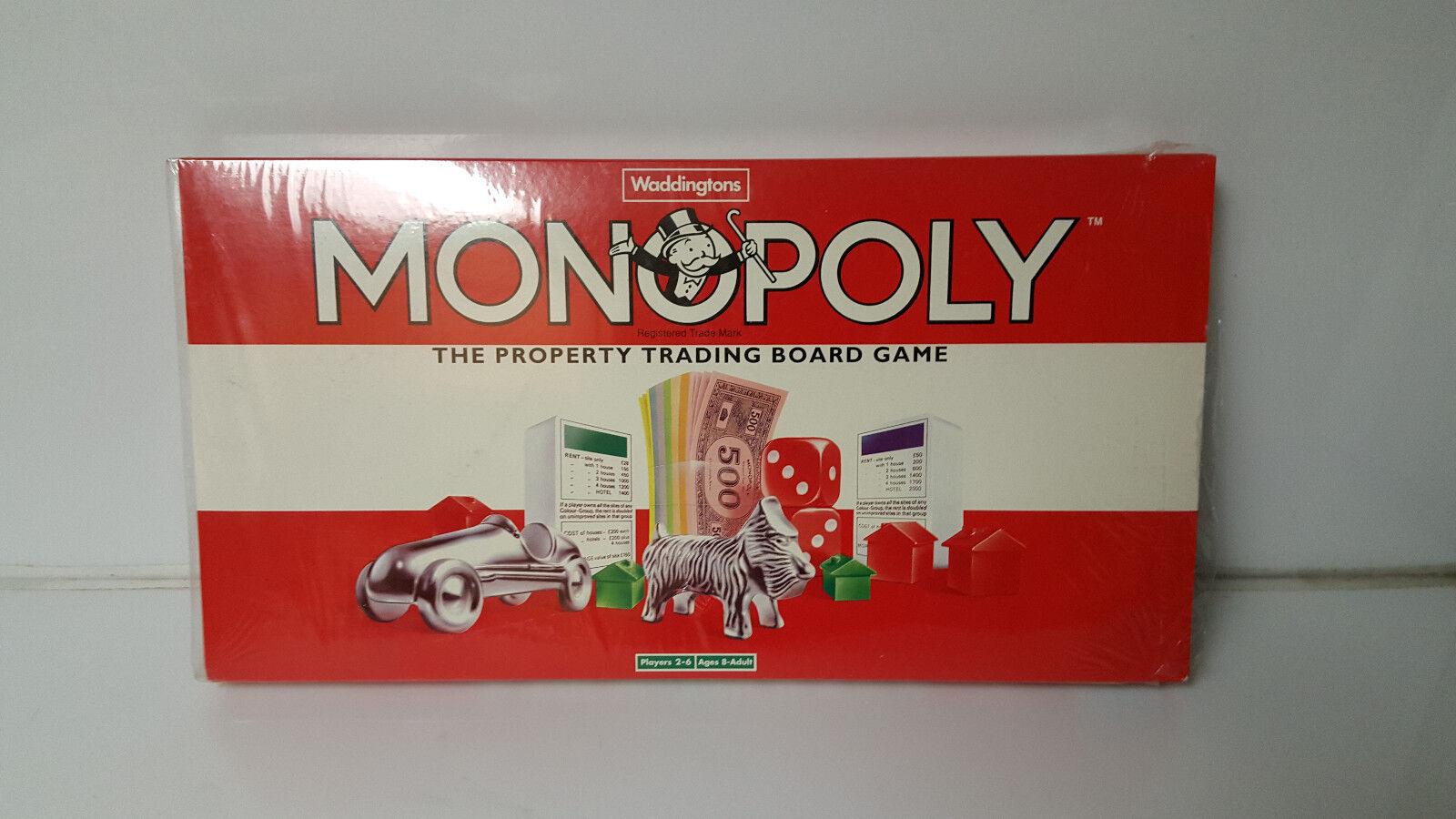 Monopolio Vintage Waddingtons Nuevo Sellado