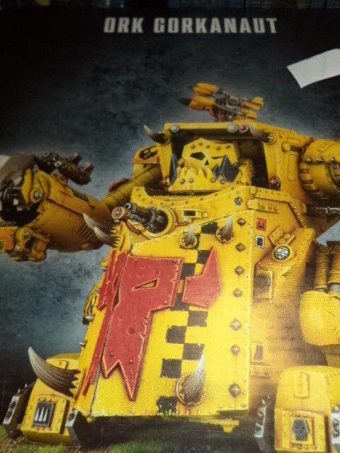 Orko Gorkanaut Orks-Warhammer 40k 40,000 Juegos taller Modelo Nuevo