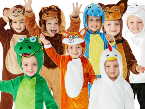 Toddler Baby Animal Costume Childs Book Week Day Girls Boys Fancy Dress Outfit
